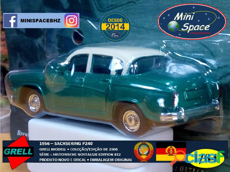 Grell Modell 1956 Sachsering P240 cor verde 1/64 5