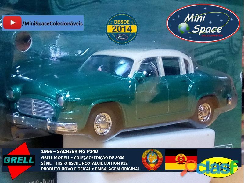 Grell Modell 1956 Sachsering P240 cor verde 1/64 7
