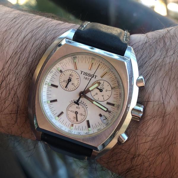 Relógio tissot original - quickster chronograph - rks-bc -