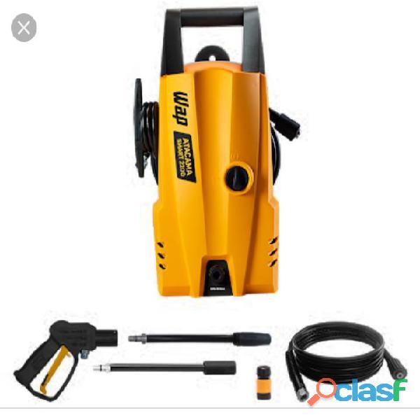 Lavadora de alta pressão wap ágil 1800 220v wap ágil laranja/preto