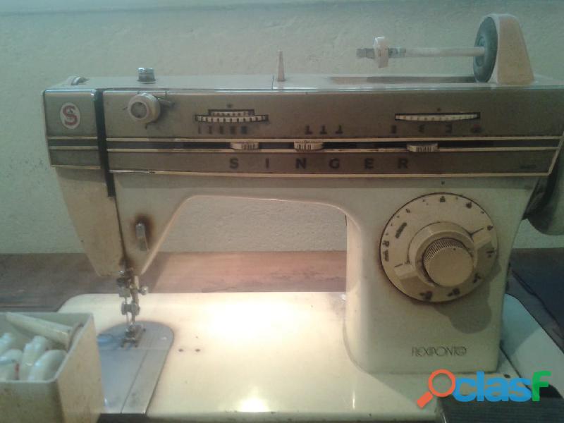 Maquina de costura singer flexiponto