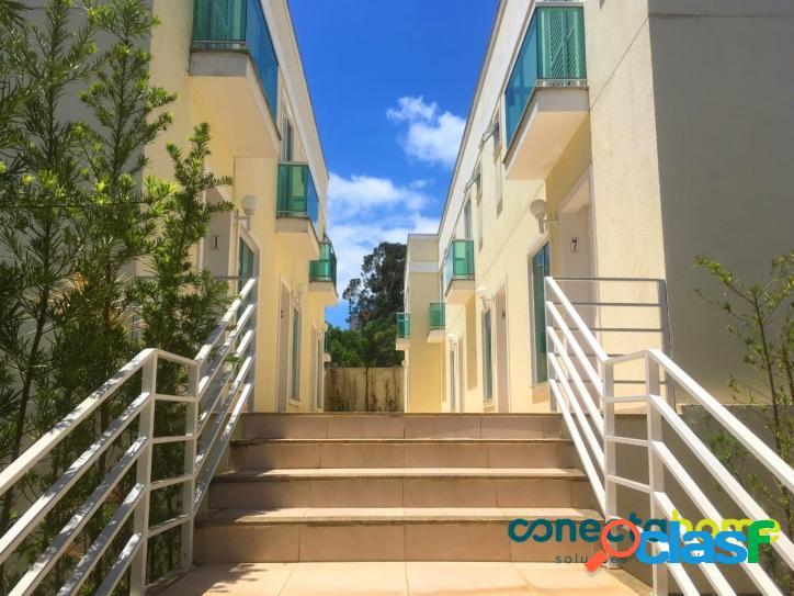 Casa em condomínio com 70 m², 2 suítes e 2 vagas no Jardim Prudência 1