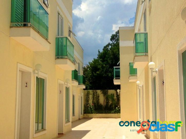 Casa em condomínio com 70 m², 2 suítes e 2 vagas no Jardim Prudência 2