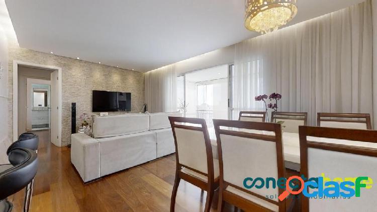 Apartamento de 90 m², 2 dormitórios e 2 vagas no jardim jabaquara