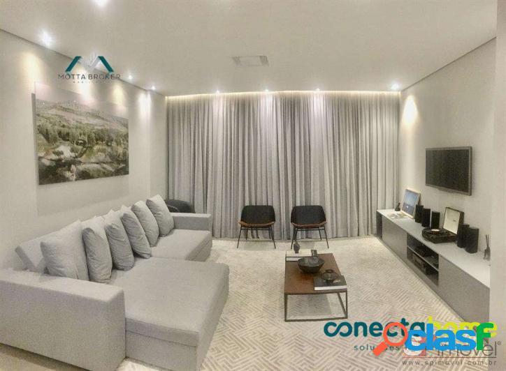 Apartamento mobiliado com 140 m², 3 dormitórios e 2 vagas na mooca