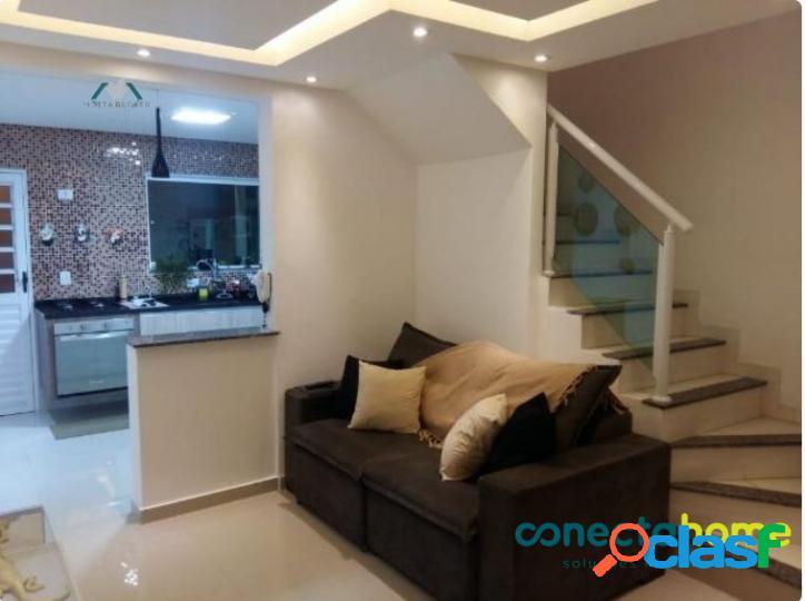 Sobrado em Condomínio na Freguesia do Ó, 70 m², 2 suítes, 1 Vaga