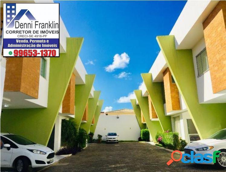 Casa com 3 quartos em condomínio resd no bairro atalaia- aracaju-se