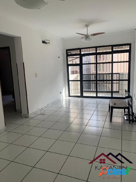 Apartamento 1 dormitório com suite, varanda e vista mar em são vicente