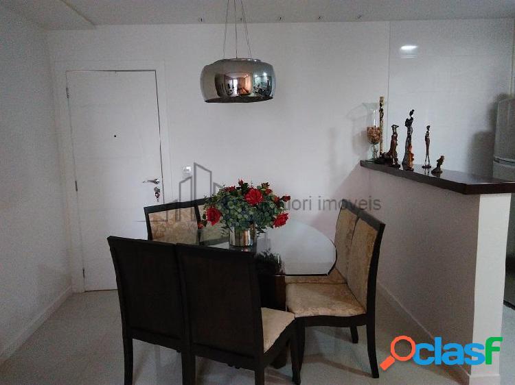 Apartamento 3 quartos montado piso porcelanato
