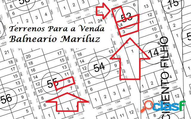 Terrenos Parcelados Balneário Mariluz
