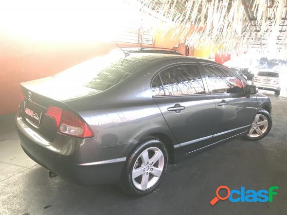 Honda civic sedan lxs 1.81.8 flex 16v aut. 4p cinza 2008 1.8 gasolina e alcool