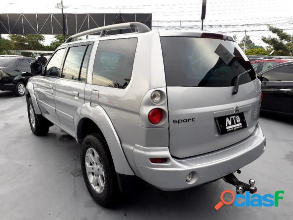 Mitsubishi pajero sport hpe 2.5 4x4 diesel aut. prata 2010 2.5 diesel
