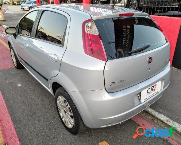 Fiat punto hlx 1.8 flex 8v 5p prata 2010 1.8 flex