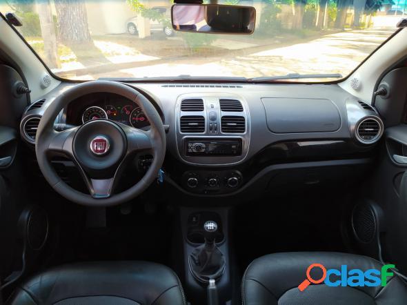 Fiat grand siena attrac. 1.4 evo f.flex 8v vermelho 2018 1.4 flex