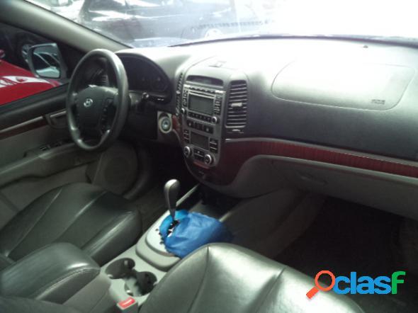 Hyundai santa fe gls 2.7 v6 4x4tiptronic prata 2010 2.7 gasolina