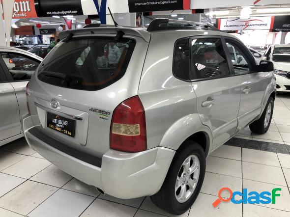 Hyundai tucson 2.0 16v flex aut. prata 2013 2.0 flex