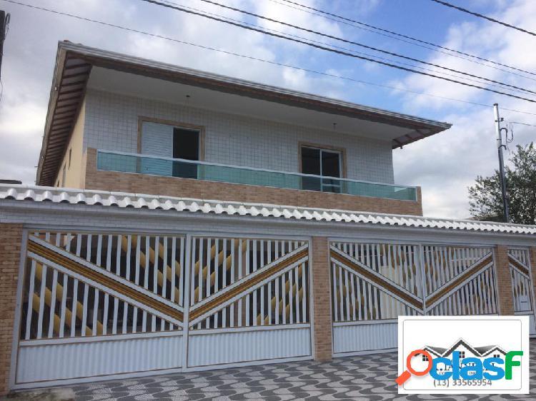 Casa em condomínio 2 dormitórios nova, mcmv ou avista, praia grande.