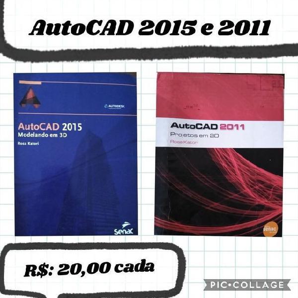 AutoCAD 2011 e 2015