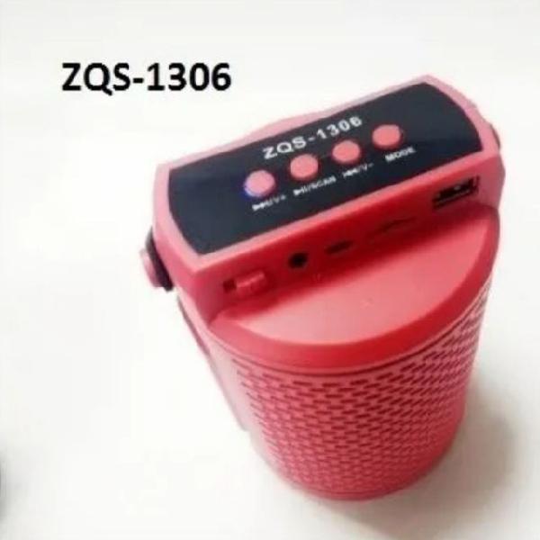 Caixa de som bluetooth zqs 1306-entregamos em domicílio