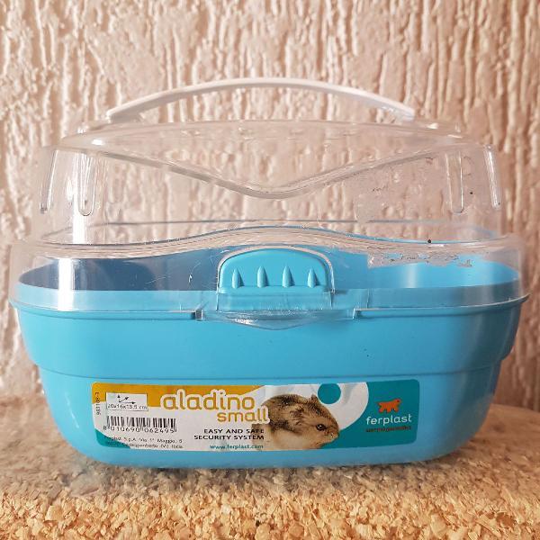 Caixa de transporte para hamster