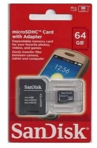 Cartão de memória 64gb-entregamos em domicílio