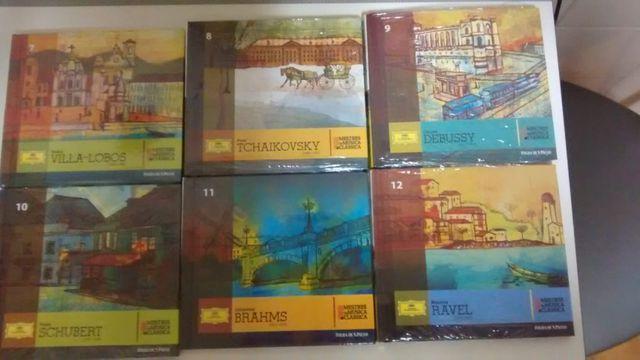 Coleção 25 cds da música clássica internacional
