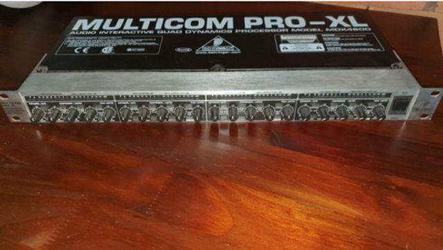 Compressor beringher multipro xl mdx 4600