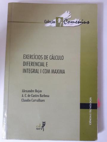 Exercício de calculo diferencial e integral com máxima,