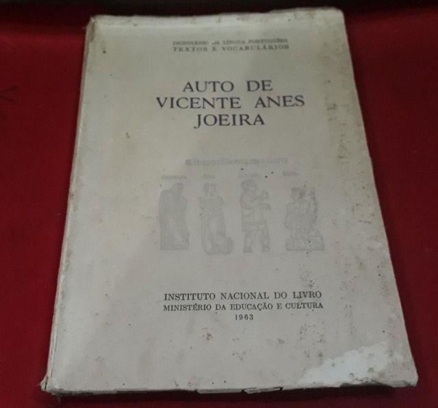 Livro auto de vicente anes joeira