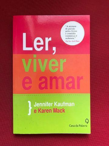 Livro ''ler, viver e amar''