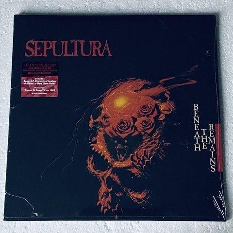 Lp sepultura beneath the remains (deluxe) 2 lps