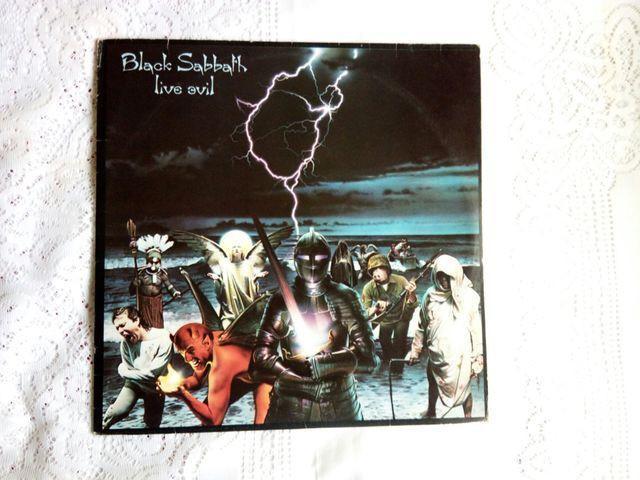 Lp vinil black sabbath live evil