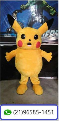 Personagens para festas e circos - pikachu pokemon