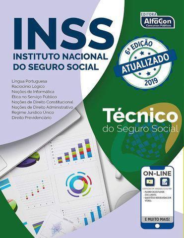 Técnico do seguro social - inss 6th edição livro sem