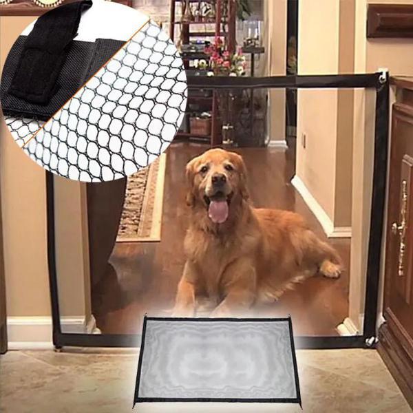 Tela grade de porta para cachorro pet caes cao bebe gato