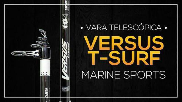 Telescópica 100% carbono da marine sports, mod.versus t