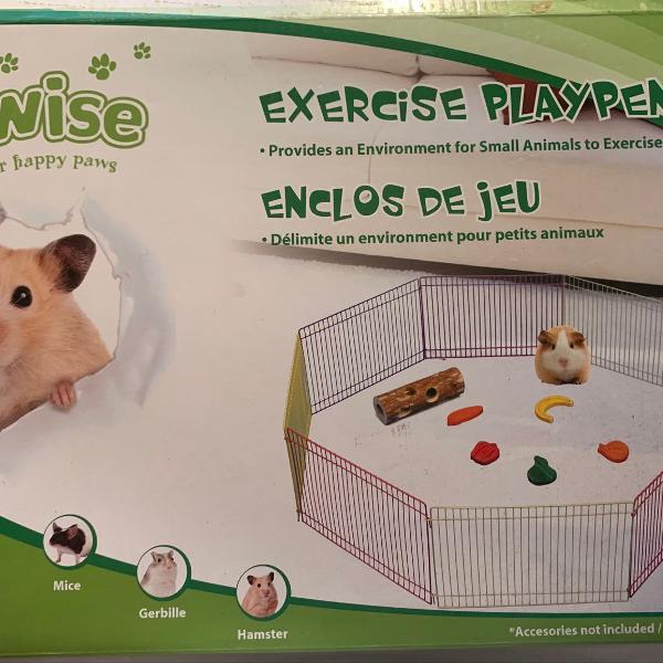 Cercadinho para roedores pawise.