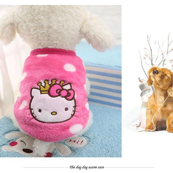 Roupa pet cachorro/gato para o inverno soft vários modelos