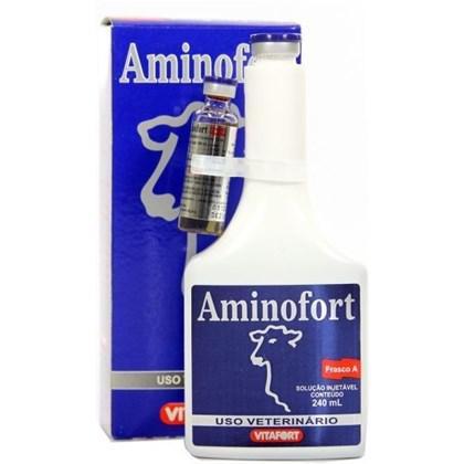 Aminofort 250ml vitafort suplemento para bovinos