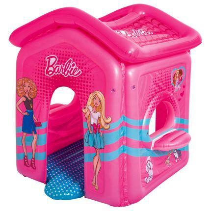 Barraca bestway inflável barbie.