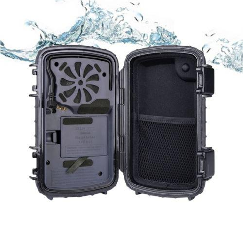 Caixa de som portatil 2.5w prova d agua celular aqcse101