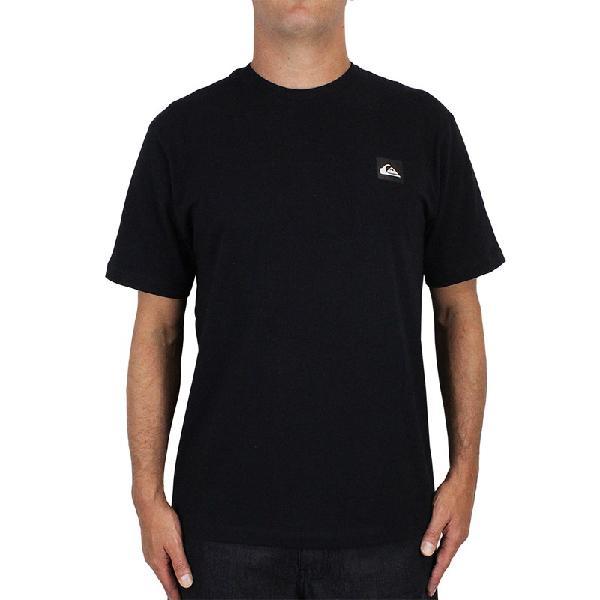 Camiseta quiksilver transfer surf preta - surf alive