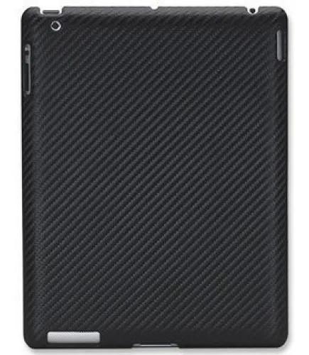 Capa slip-fit de silicone ipad 2/3 preta manhattan mh-450027