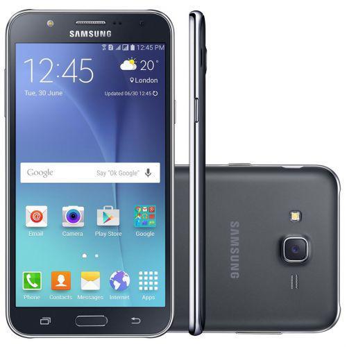 Celular smartphone samsung galaxy j7 duos j700m dourado -