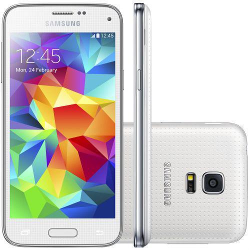 Celular smartphone samsung galaxy s5 duos g900m branco-dual
