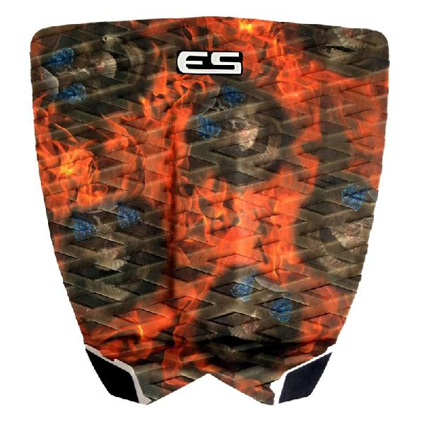 Deck para prancha de surf elite surfing freak fire skull |