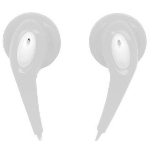 Fones de ouvido in-ear 32 /u00d4mega 10mw branco ne925 naxa