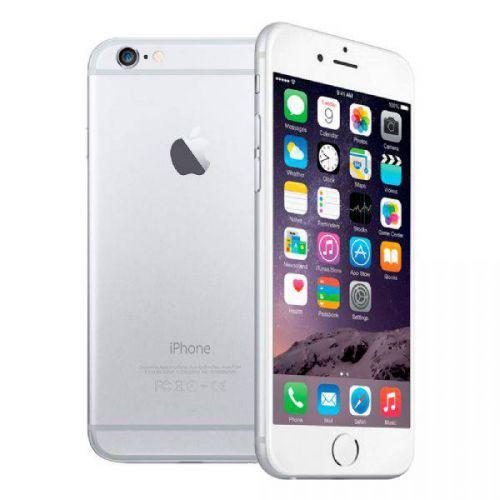 Iphone 6 prata, mg3c2bz//a, tela de 4.7/