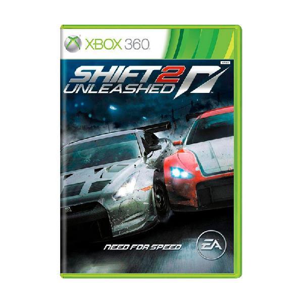 Jogo need for speed shift 2: unleashed - xbox 360