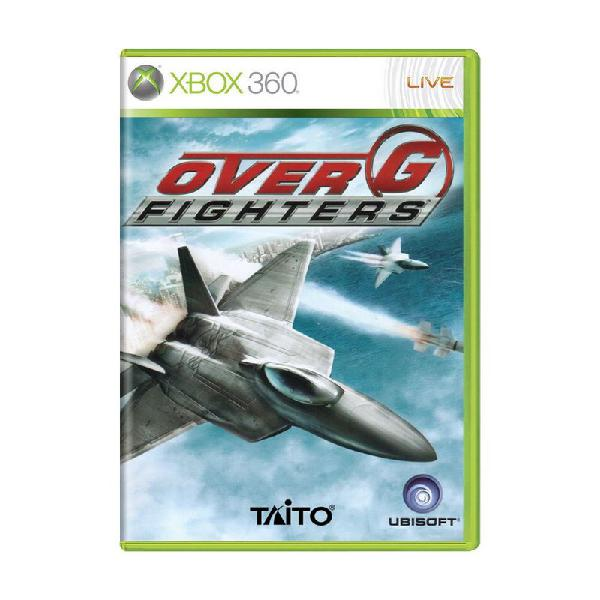 Jogo over g fighters - xbox 360